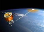 Graphic:Operating Explorer AIM Satellite.(credit NASA)