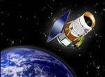Graphic:Operating Explorer WISE Satellite.(credit NASA)